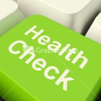 health-check-computer-key-in-green-showing-medical-examination_z1GkPEv__PM